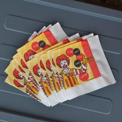 McDonald's Paper Napkin 10P Set