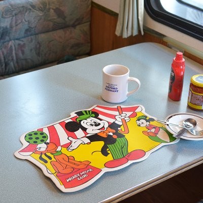 Disney luncheon mat