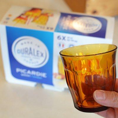 DURALEX Amber 310ml 6pcs BOX