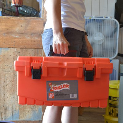 HOME DEPOT HOMER TOOL BOX