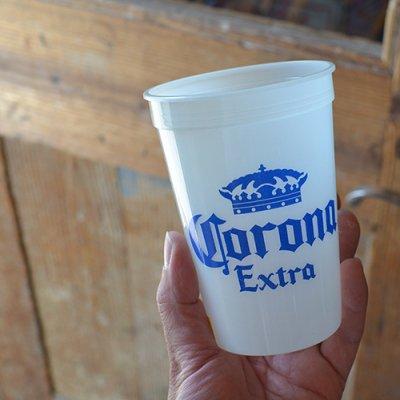 Corona Extra Cup