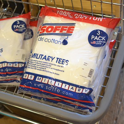 SOFFE MILITARY TEES 3P PACK