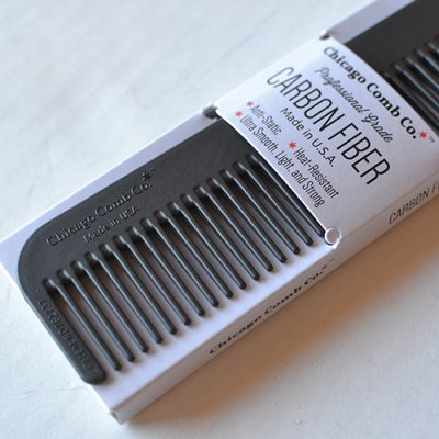 "Chicago Comb ""Model No.1 carbon fiber"""