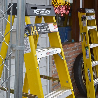 WERNER Step Ladder 5ft