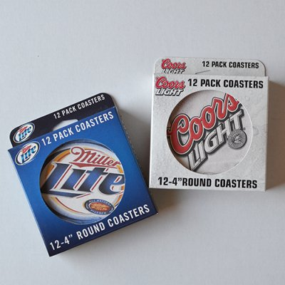 Beer Coasters 12 pack