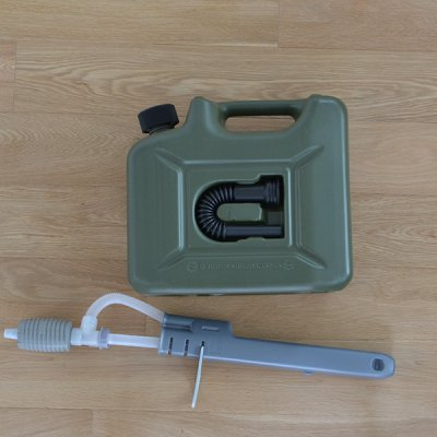 Hunersdorff Fuel Can Pro 10L with Olive pomp