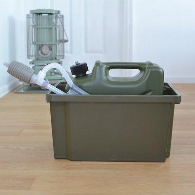 Hunersdorff Fuel Can Pro 10L  Olive kerosene Set