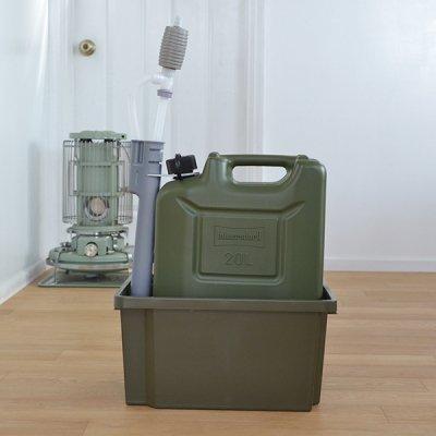 Hunersdorff Fuel Can Pro 20L  Olive kerosene Set