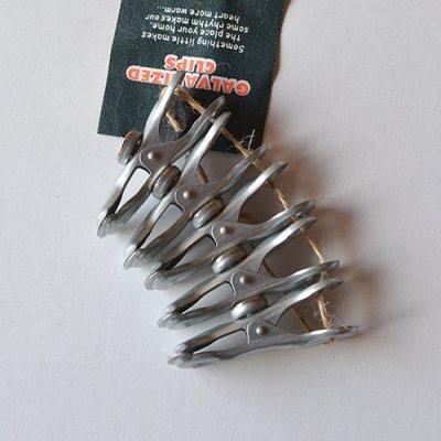 Galvanized Magnet Clip 5p set