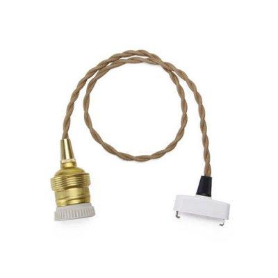 """Brown Cord """"60cm(E26)"""""""