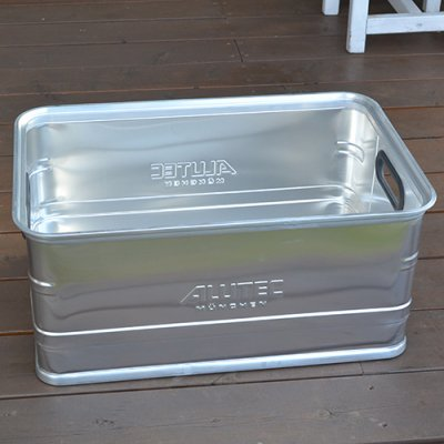 ALUTEC ALUMI CONTAINER OPEN TOP 56L