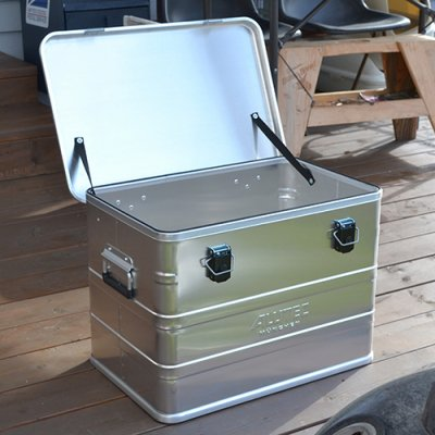 ALUTEC ALUMI CONTAINER with Lid 76L