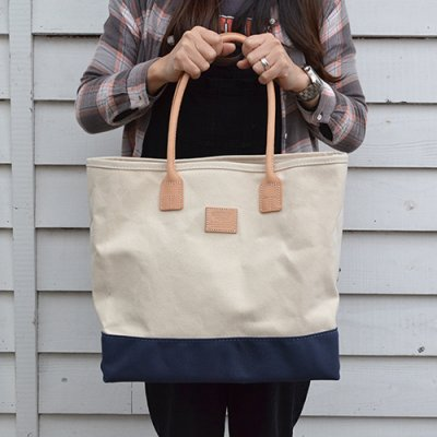 HERITAGE LEATHER DAY TOTE