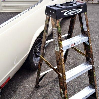 WERNER Step Ladder 4ft Camo