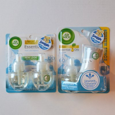 AIR WICK STARTER KIT & REFILLS SET (SNUGGLE)