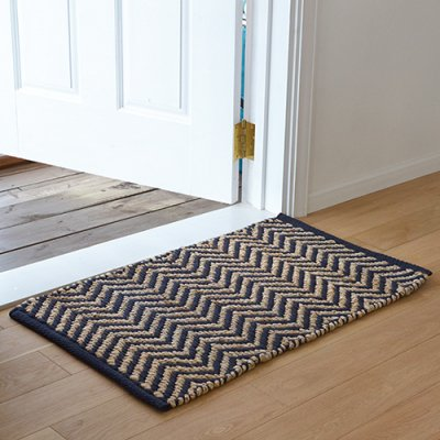 Hemp Cotton Herringbone Rug