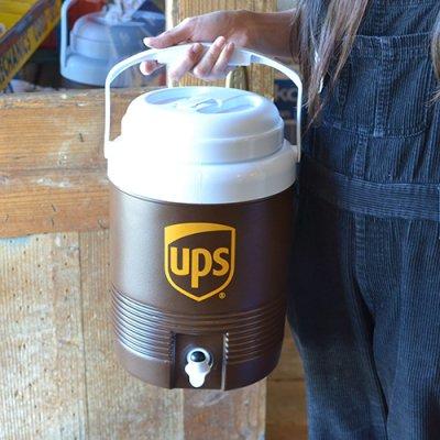 UPS 2GAL WATER JUG