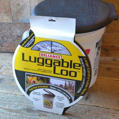 Outdoor toilet & Garbage lid