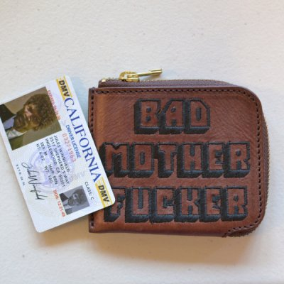 MINI BAD MOTHER FUCKER WALLET embroidery