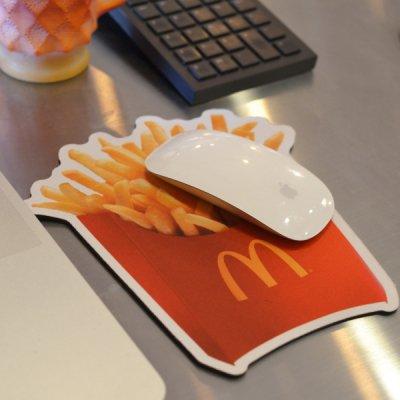 McDonald's Fries potato Mouse pad