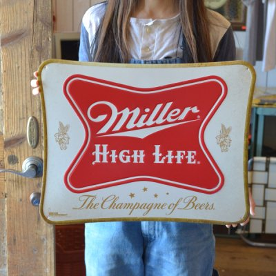 Dead stock Miller Tin Sign