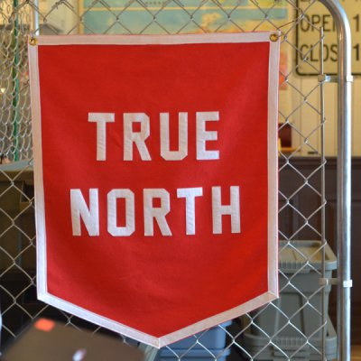 OXFORD PENNANT CHAMPION BANNER -TRUE NORTH-