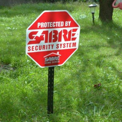SABRE Security Sign