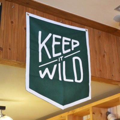 OXFORD PENNANT CHAMPION BANNER -KEEP IT WILD-