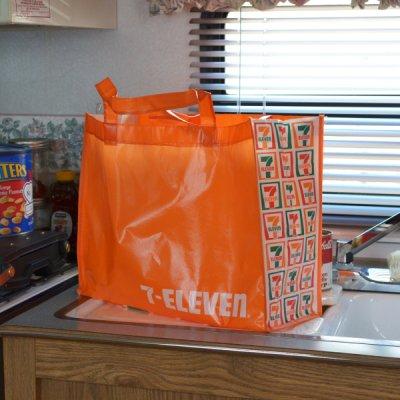 USA 7-ELEVEN Shopping Bag