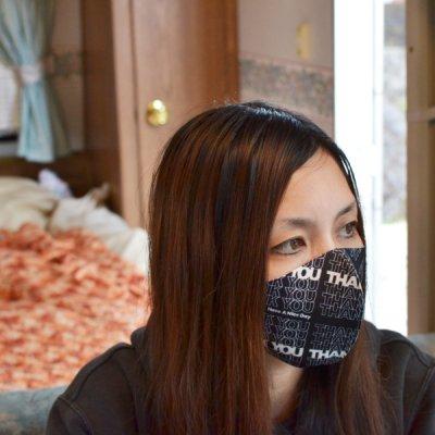 Thank You Washable Mask 3P Set