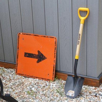 TRUE TEMPER Round shovel