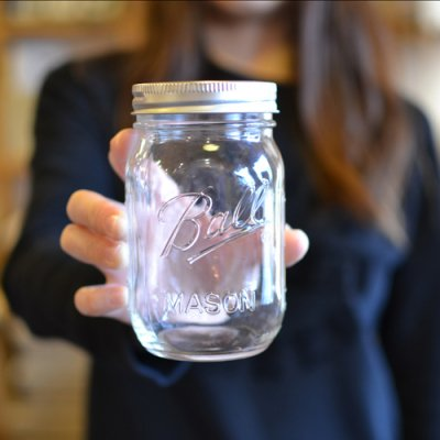 Ball Mason Jar 480ml clear
