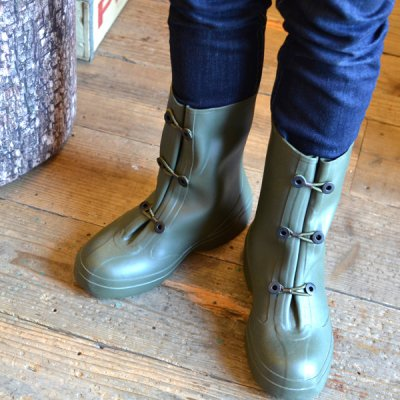U.S.ARMY OVERSHOES OLIVE