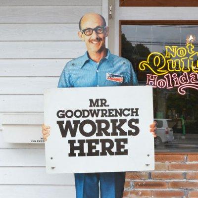 GM WORKSMAN STORE SIGN