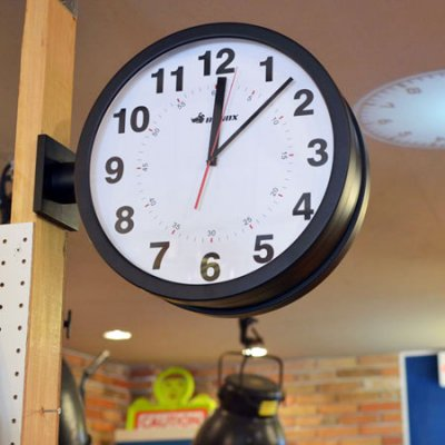 WALL CLOCK -Double Faces-