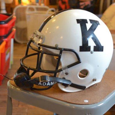 Vintage Football Helmet