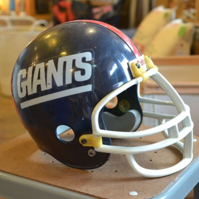 Vintage Football Helmet GIANTS