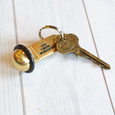 Cooper Hotel Key Tag Brass