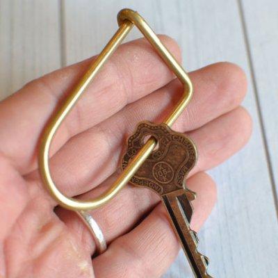Wilson Key Ring Brass