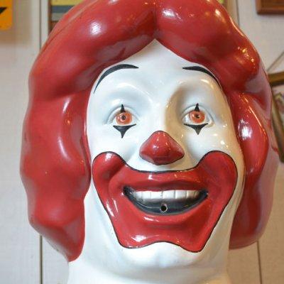 Ronald McDonald Head 1977's
