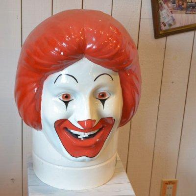 Ronald McDonald Head 1976's