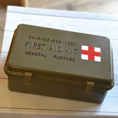 FIRST AID KIT MEDICAL BOX