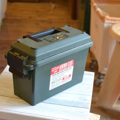 30 CAL PLASTIC AMMO CAN