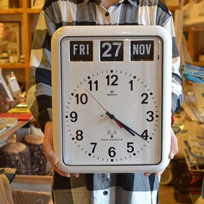 Twemco Radio Control Calendar Clock