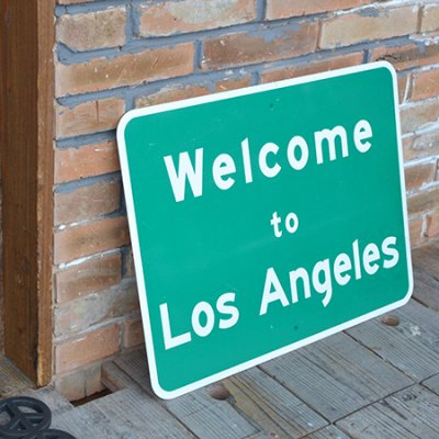 TRAFFIC SIGN Los Angeles