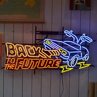 BACK TO THE FUTURE NEON SIGN