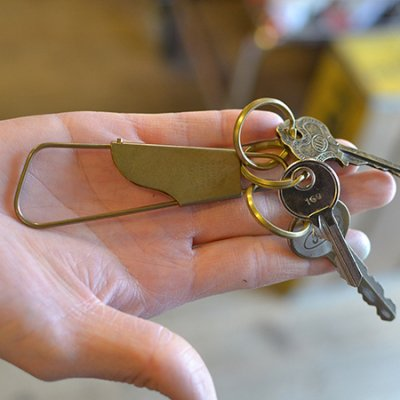"Holger ""Brass""Key holder"