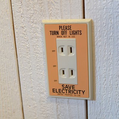 P.F.S.SWITCH PLATE