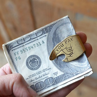 Button Works MONEY CLIP