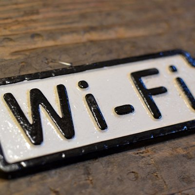 Iron Sign Wi-Fi